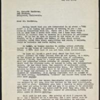 Letter 007, pg. 1