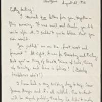 Letter 038, pg. 1
