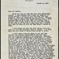 Letter 036, pg. 1