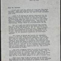 Letter 085, pg. 1